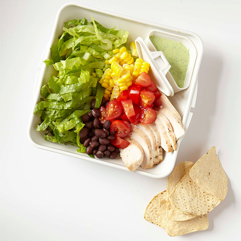 Photo of Chicken Taco Salad with Cilantro-Lime Dressing  by WW
